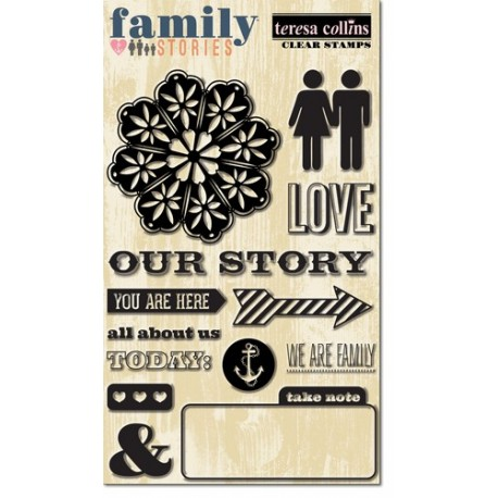 Teresa Collins - Tampons clear - Family stories