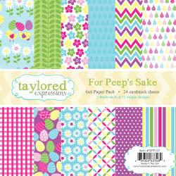 Taylored Expressions - Mini-pack papier 15 X 15 cm - For Peep_s Sake