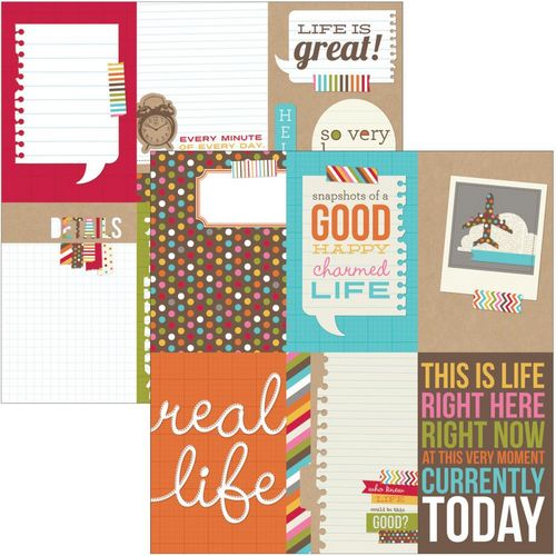 Simple Stories - Snap life - Vertical Journaling Card Elements