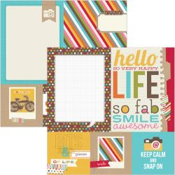 Simple Stories - Snap life - Snap Photo mat Elements