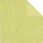 Simple Stories - Hello Baby - Green Wood / Stripe