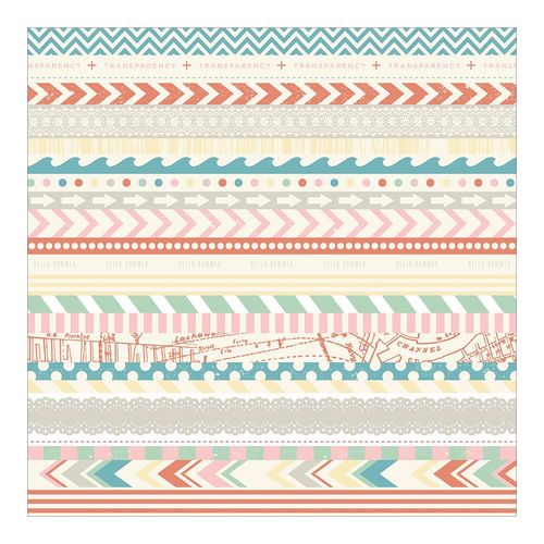 Crate Paper - The Pier - Washi Tape