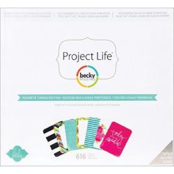 Project Life - Becky Higgins - Favorite Things Edition