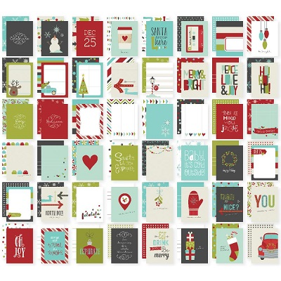 Simple Stories - Tis the Season - Snap Cards 7.5 X 10 cm