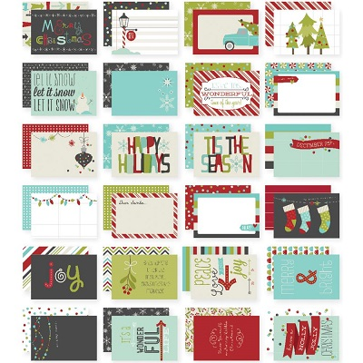 Simple Stories - Tis the season - Snap Cards 10 X 15 cm