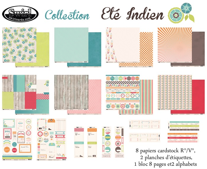 Swirlcards - Collection Et� Indien