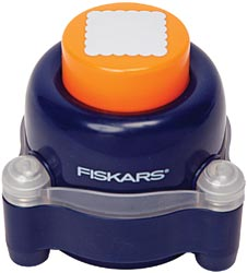 Fiskars - Perforatrice everywhere  - carr� festonn� 3.8 cm -