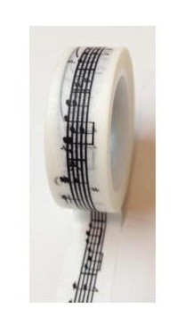 Washi Tape Love my tapes - Partition musicale
