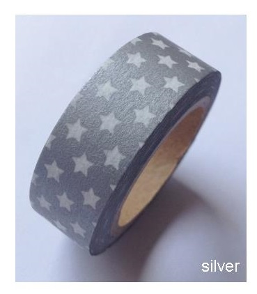 Washi Tape Love my tapes - Argent� � �toiles