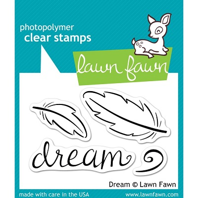 Lawn Fawn - Clear Stamps - Dream