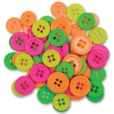 Boutons Fluorescents - Favorite Findings 130 pces - N�on