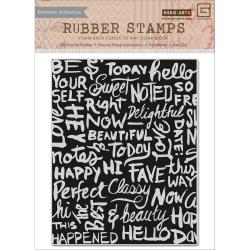 Hero Arts - Rubber Stamps - Chalkboard Background