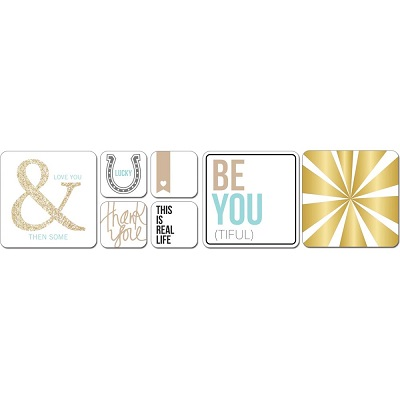 We R Memory Keepers - 75 cartes d�coup�es - Studio Gold