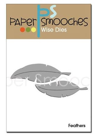 Paper Smooches - Dies - Feathers / plumes