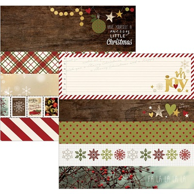 Simple Stories - Cozy Christmas - Border & Title