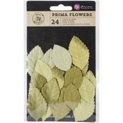 Prima Flowers - Bethany paper leaves - Greenery Leaf
