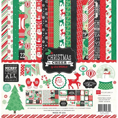Echo Park - Christmas cheer - Collection kit