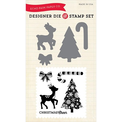 Echo Park - Designer Dies & Stamp Set - Christmas Cheer
