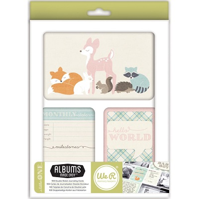 We R Memory Keepers - 100 cartes d�coup�es - Little One