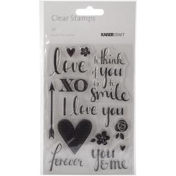 Kaisercraft - Clear Stamps - XO