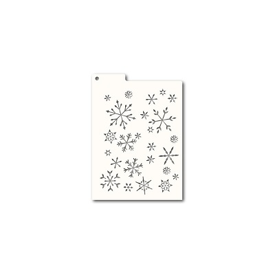 MemoryBox Stencil - Masque - Winter Large Snowflakes