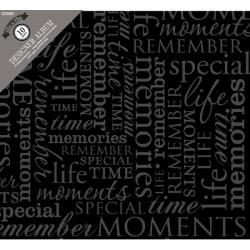 Colorbok - Album photo � vis 30.5 X 30.5 - Memories noir