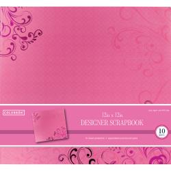 Colorbok - Album photo � vis 30.5 X 30.5 - Papillons roses