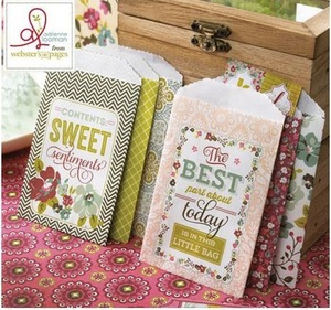 Webster�s pages - Set de pochettes d�cor�es - Plum Seed